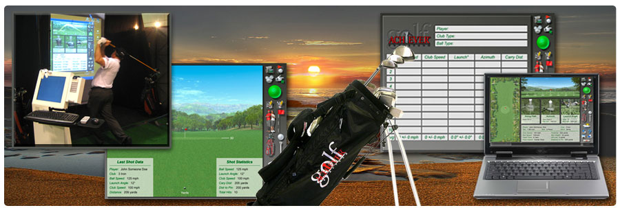 Golf Achiever SIM - VR Golf System - Swing Analysis and Club Fitting Software